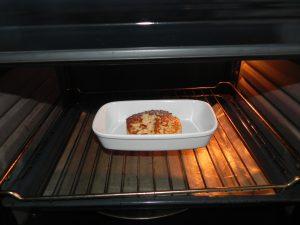Como las mías eran muy gorditas, las he metido 5 minutos en el horno por si no se hubieran hecho del todo