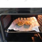 Las metemos muy poquito al horno para que el queso se funda