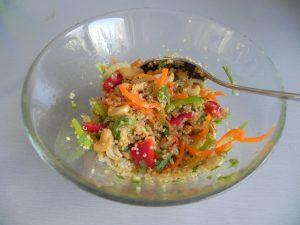Removéis bien la ensalada