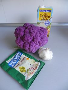 Ingredientes Crema de coliflor al estilo Alfredo's