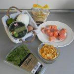 Ingredientes Hamburguesas de salmón con guacamole