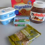 Ingredientes Nutella cheescake
