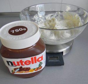 Añadimos ahora la Nutella