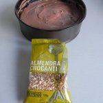 Añadimos sobre la mezcla la almendra crocanti