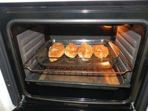 Las horneamos durante 20/25 minutos a 180º