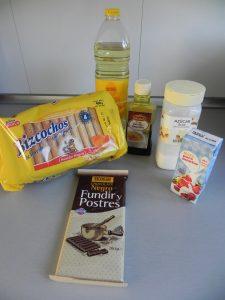Ingredientes Eclairs de nata y chocolate (¡con truco!)