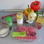 Ingredientes pimientos rellenos