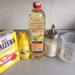 Ingredientes salsa de limón