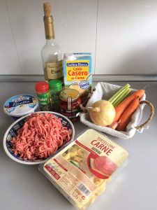 Ingredientes Sopa lasaña (Lasagna Soup)