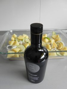 Y añadimos un chorrito de aceite de oliva virgen extra