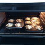 Y lo metemos la horno a 180º (previamente calentado), unos 15 min o hasta que el queso se haya fundido y la oblea tostado.