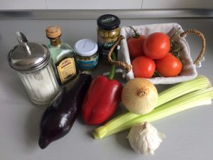 Ingredientes Caponata siciliana