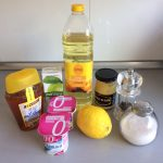 Ingredientes Aliño de yogurt