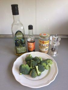 Ingredientes Brócoli al vapor (al estilo asiático)