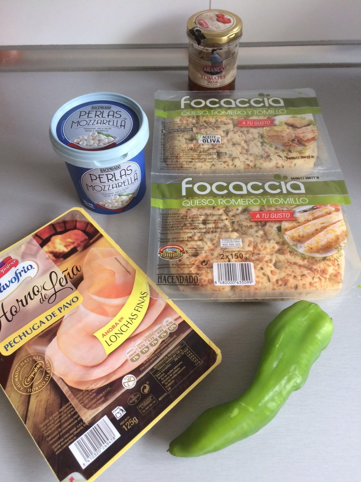 Ingredientes Pizza-ccia
