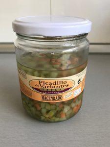 Picadillo de verduras en vinagre