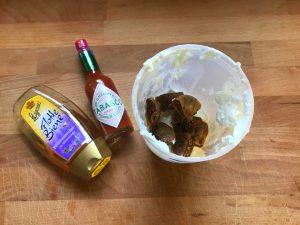 Las gotitas de Tabasco y la miel