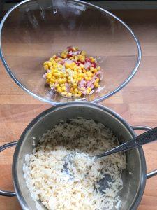 Y el arroz ya frío
