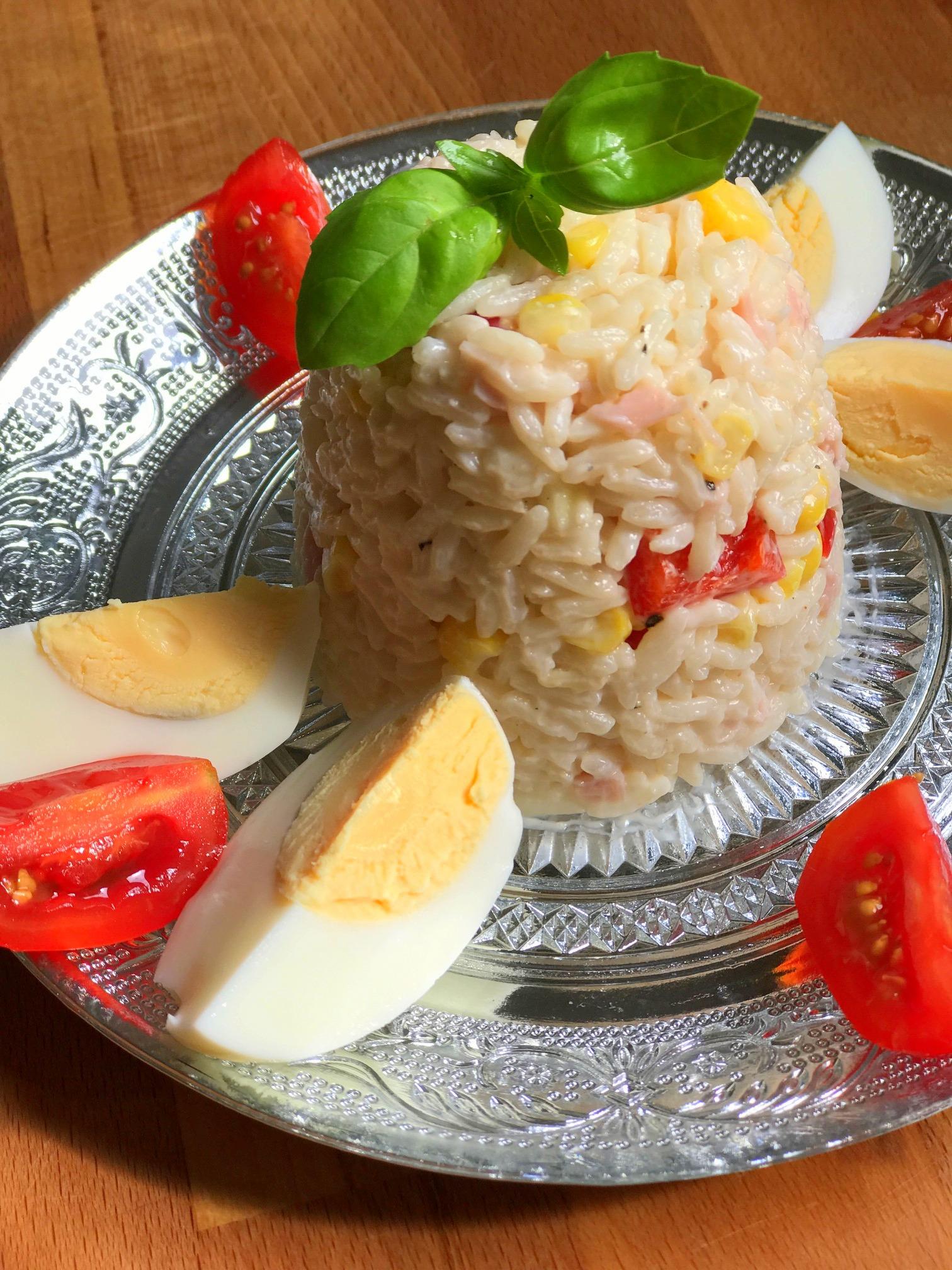 Ensalada polaca de arroz (receta de Zaneta)