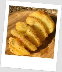 Espiral de patata asada