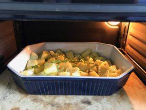 Metedlas de nuevo en el horno a 200º durante 30 o 40 minutos o hasta que veáis que están doradas. Ojo, es necesario que las remováis un par de veces durante este tiempo para aseguraros de que se doran por todos los lados.